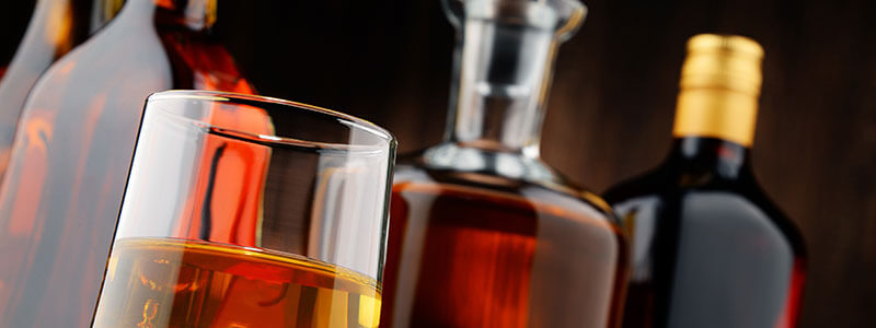 spirits at New Castle Liquors