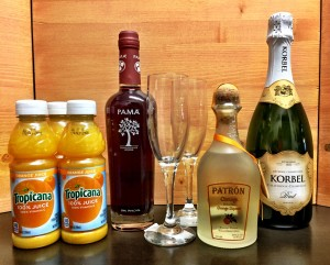Champagne and Mimosas at New Castle Liquors