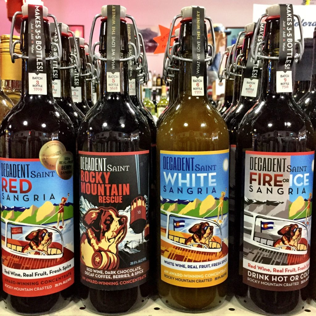 Decadent Saint Sangria recipes at New Castle Liquors