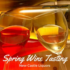 Spring wine tasting at New Castle Liquors