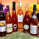 Rosé wines at New Castle Liquors