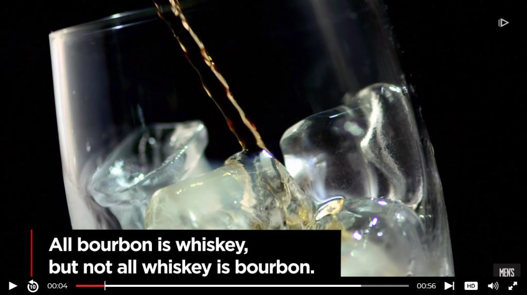 Bourbon video