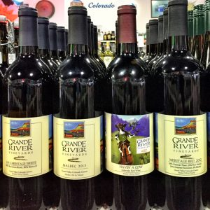 Grande River Wines at New Castle Liquors