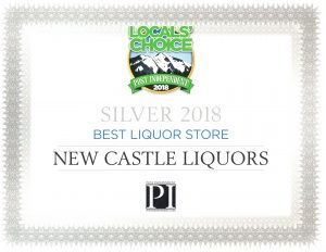 2018 New Castle Liquors Locals Choice Award