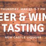 e tasting at New Castle Liquors