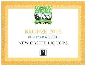 New Castle Liquors 2019 Locals' Choice Award